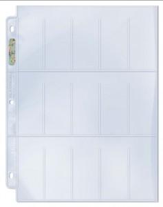 Ultra Pro 15 Pocket Page