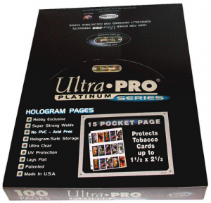 Ultra Pro 15 Pocket Page Box