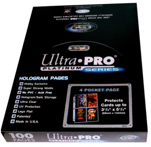 Ultra Pro 4 Pocket Page Box