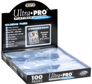 Ultra Pro 6 Pocket Page Box