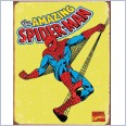 SPIDERMAN  Distressed Retro Vintage Tin Sign 40cm x 31.5cm