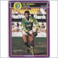 1987 CANBERRA RAIDERS SCANLENS RUGBY LEAGUE CARD #12 MAL MENINGA