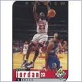 1998-99 UD Choice Preview #23 Michael Jordan