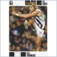 2011 HERALD SUN AFL FOOTY CARD DALE THOMAS #48