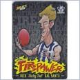 2015 AFL SELECT FIREPOWER CARICATUR  NICK DAL SANTO #FC38