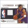2003-04 Fleer Patchworks Licensed Apparel #AH Allan Houston 151/300