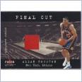 2001-02 Fleer Genuine Final Cut #9 Allan Houston