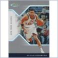 2004-05 Finest Refractors #69 Allan Houston 205/249