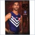 2016 Select Certified AFL Rookie Card RC61 Shane Yarran 090/240 - Fremantle Dockers