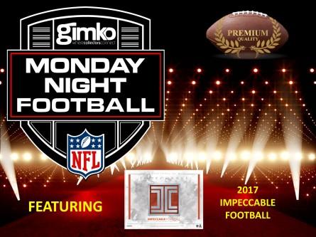 #745 NFL IMPECCABLE MONDAY