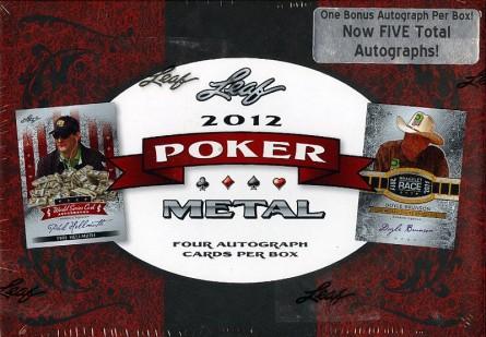 #780 2012 LEAF METAL POKER BREAK