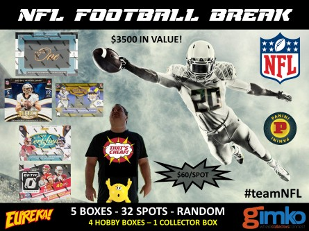 #1427 NFL FOOTBALL BREAK