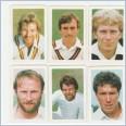 1982-83 Aust. Super Cricket Cards - ENGLAND Team Set Lot 10 Cards