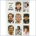 1982-83 Super Cricket Cards - NEW ZEALAND Team Set Lot 15 Cards