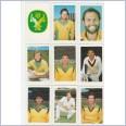 1982-83 Super Cricket Cards - AUSTRALIA Team Set Lot 13 Cards