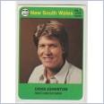 1978 SCANLENS CRICKET - No.7 David JOHNSTON (NEW SOUTH WALES)