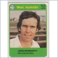 1978 SCANLENS CRICKET - No.18 John INVERARITY (WESTERN AUSTRALIA)