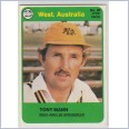 1978 SCANLENS CRICKET - No.20 Tony MANN (WESTERN AUSTRALIA)
