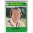 1978 SCANLENS CRICKET - No.39 John NASH (SOUTH AUSTRALIA)
