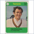 1978 SCANLENS CRICKET - No.54 Trevor DOCKING (TASMANIA)