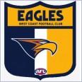 2014 AFL Select Honours Team Set - West Coast Eagles - 12 cards in total