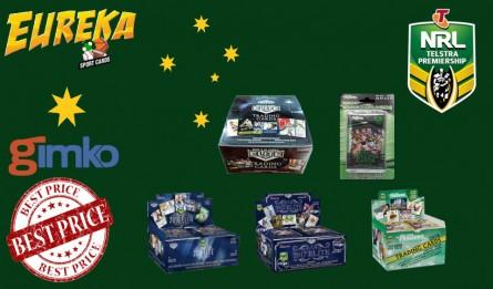 #1342 EUREKA NRL 4 BOX BREAK
