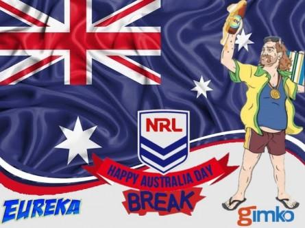 #1303 EUREKA NRL AUSTRALIA DAY BREAK
