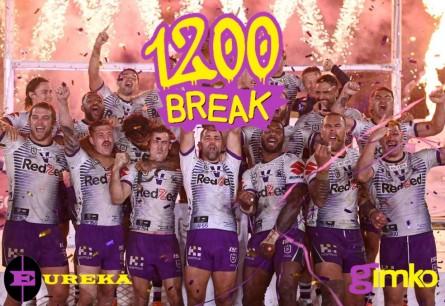 #1200 EUREKA NRL 1200 CELEBRATION BREAK