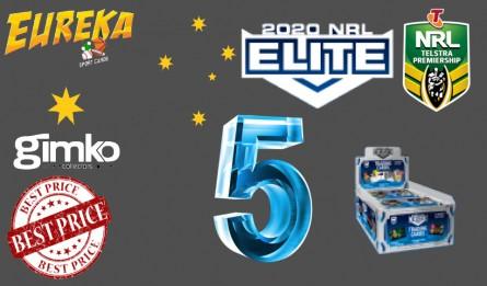 #1157 EUREKA NRL 2020 ELITE 5 BOX  BREAK