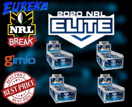 #1134 EUREKA NRL 2020 ELITE 4 BOX  BREAK