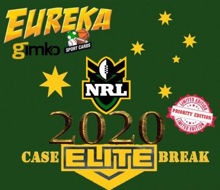 #1149 EUREKA NRL 2020 ELITE CASE BREAK - 1 SPOT PER PERSON ONLY!