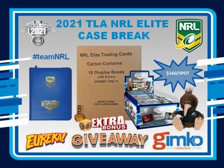 #1518 EUREKA NRL 2021 TLA ELITE CASE BREAK