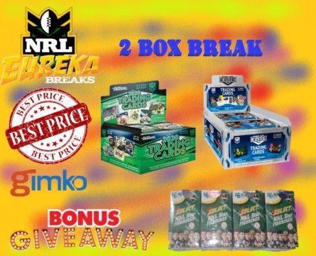 #1146 EUREKA NRL 2 BOX 2020  BREAK