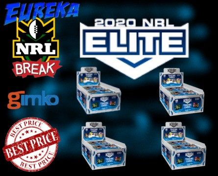 #1136 EUREKA NRL 2020 ELITE 4 BOX  BREAK