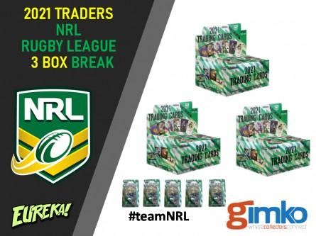 #1372 EUREKA NRL 2021 TLA TRADERS 3 BOX BREAK