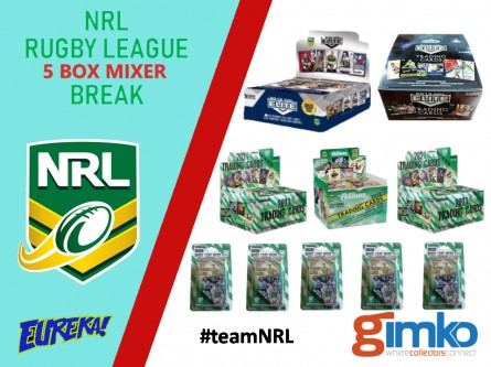 #1418 EUREKA NRL 5 BOX MIXER BREAK