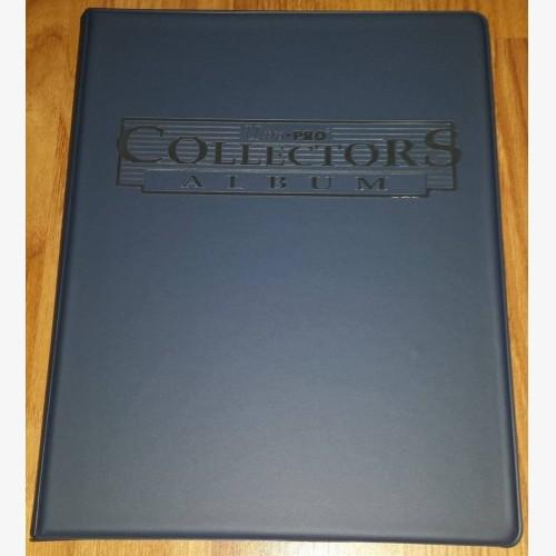 Ultra PRO 9-Pocket Blue Collectors Portfolio