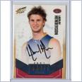 2008 Classic Draft Pick Platinum Signature DPP3 Lachlan Henderson 077 of 100 - Brisbane Lions