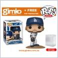 MLB - Clayton Kershaw Pop! Vinyl (Dodgers) + Protector