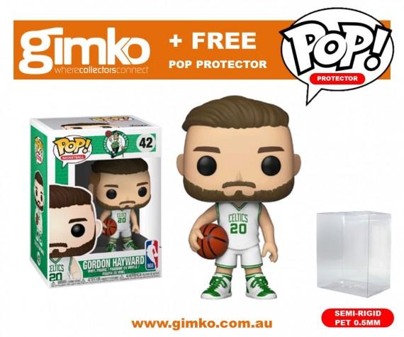 NBA - Gordon Hayward Pop! Vinyl (Celtics) + Protector
