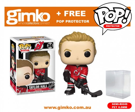 NHL: Devils - Taylor Hall Pop! Vinyl + Protector
