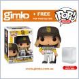 MLB Baseball - Fernando Tatis Jr. San Diego Padres (Home Uniform) Pop! Vinyl (#67) + Protector