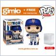 MLB Baseball - Pete Alonso New York Mets (Away Uniform) Pop! Vinyl (#68) + Protector