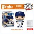 MLB Baseball - Whit Merrifeld Kansas City Royals (Home Uniform) Pop! Vinyl (#69) + Protector