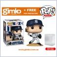 MLB Baseball - Gerrit Cole New York Yankees (Home Uniform) Pop! Vinyl (#72) + Protector
