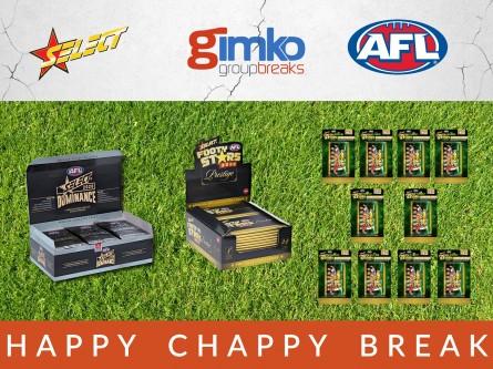 #1406 AFL FOOTBALL HAPPY CHAPPY BREAK