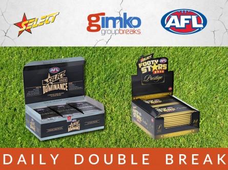 #1250 AFL FOOTBALL DAILY DOUBLE BREAK