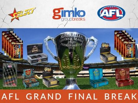 #1185 AFL FOOTBALL 2020 GRAND FINAL BREAK