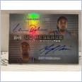 2006-07 UD Reserve Signatures Dual #CB Renaldo Balkman/Mardy Collins 49/50