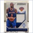 2013-14 Innovation Memorable Memorabilia #13 Tyson Chandler 006/299 Jersey Number